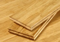Bambuko masyvo grindys natūrali spalva