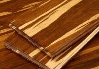 Bambuko masyvo grindys tigrinė spalva